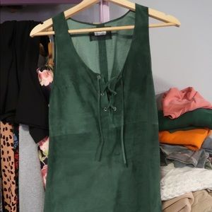 Reformation Dress 100% Suede
